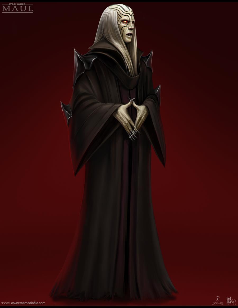 Sith Robe Concept Art