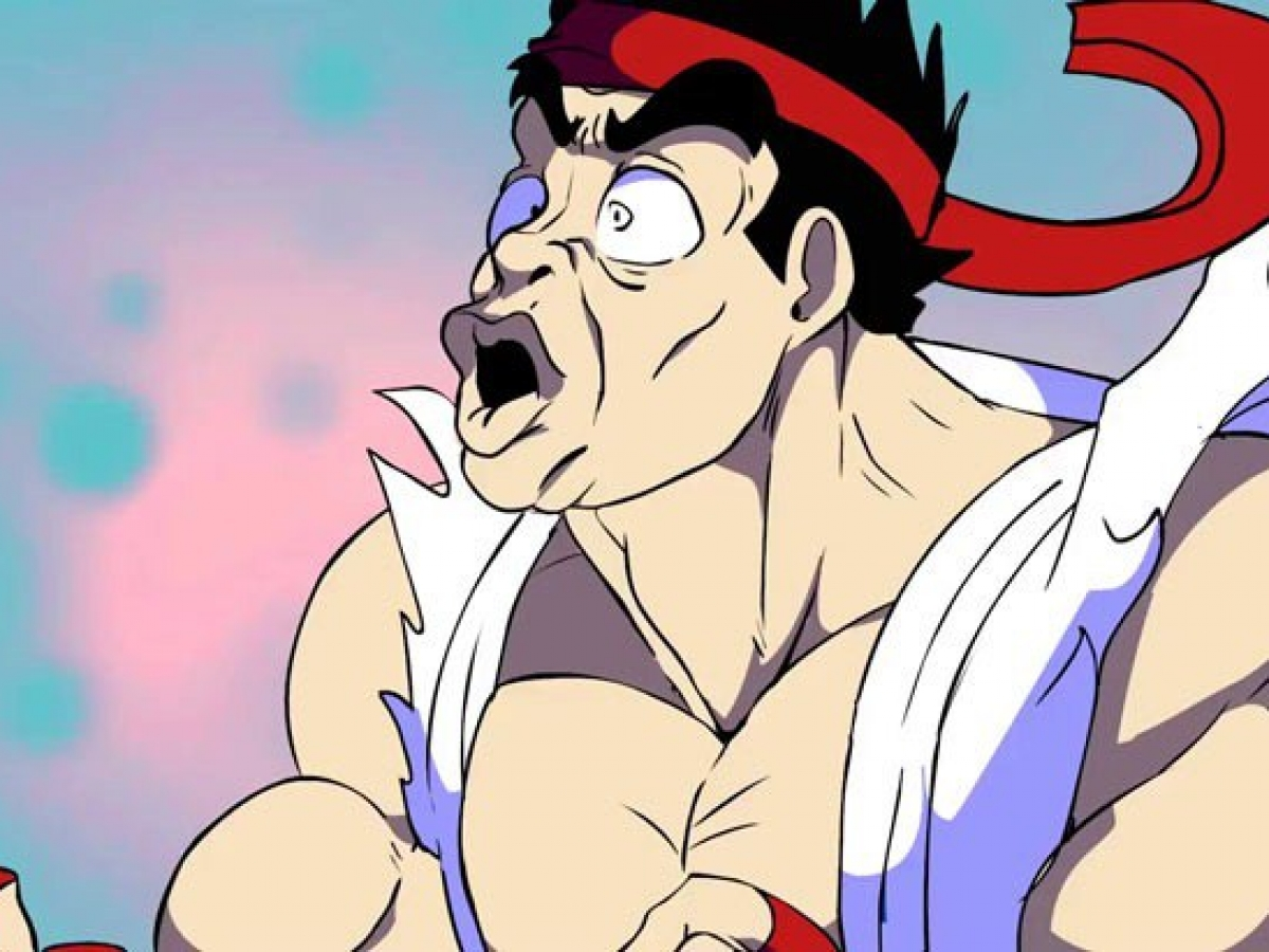 Animated Penis Pics it's penis fighter in this ryu vs ken rap battle - critical hit