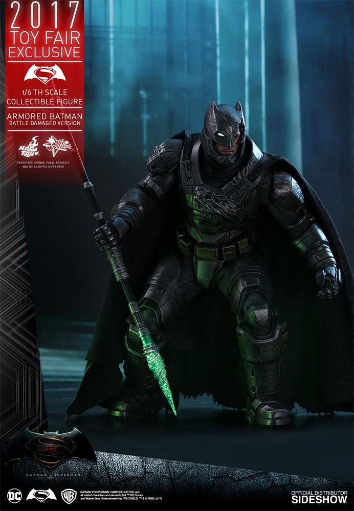 1//6 Green Kryptonite Spear LED Light For Hot Toys Batman Superman Figure U.S.A.