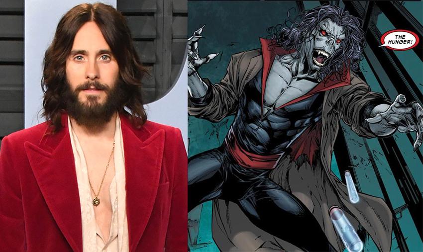 Jared Leto Morbius >> Morbius First Pic Of Jared Leto Leaks Rumoured Mcu Spider