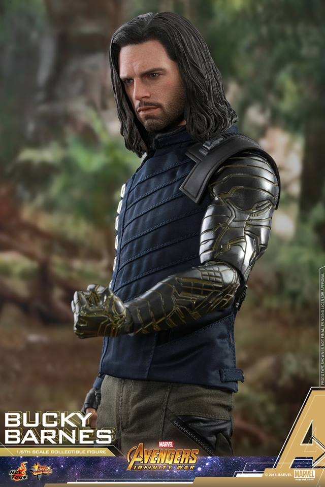 Hot Toys Bucky Barnes is NOT going to sell you his sixth