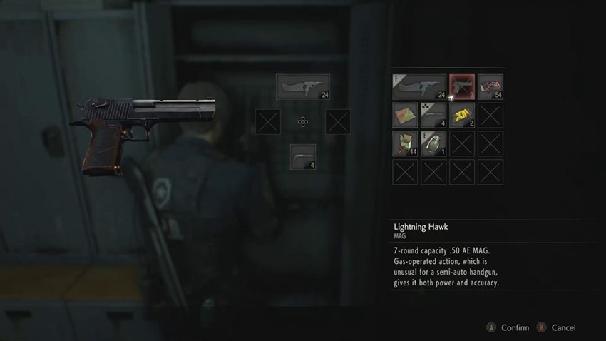 Resident Evil 2 Leon Magnum (13)