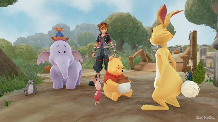 Kingdom Hearts Pooh (1)