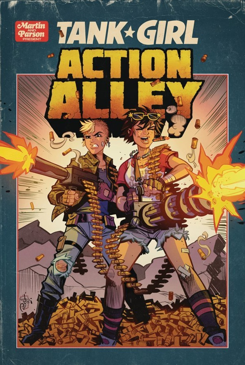 Tank Girl Action Alley #3