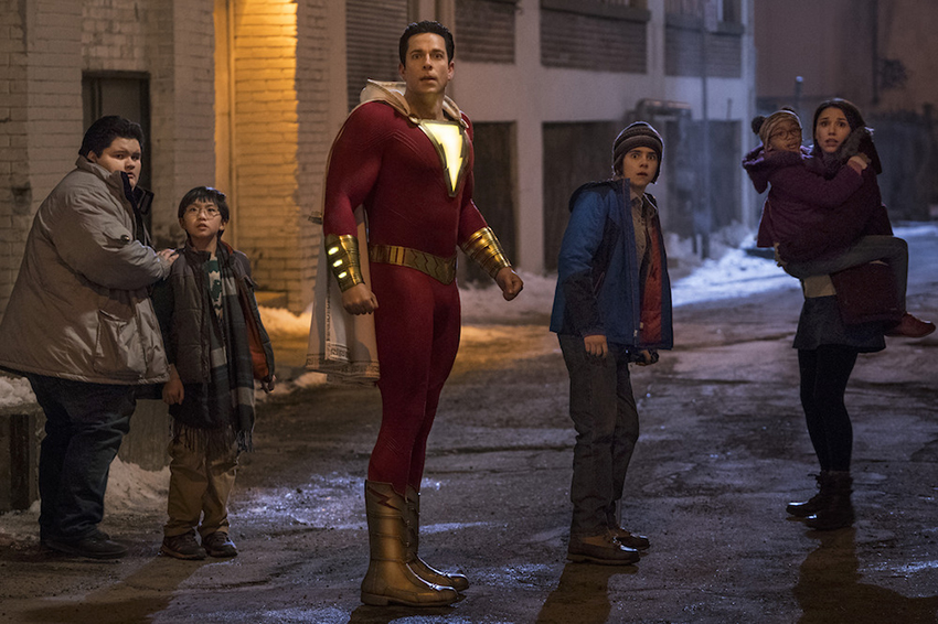 Shazam! is currently the highest-rated DCEU movie ever on