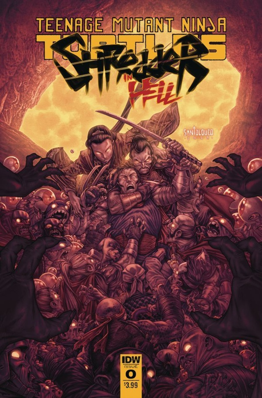 Teenage Mutant Ninja Turtles Shredder in Hell #2