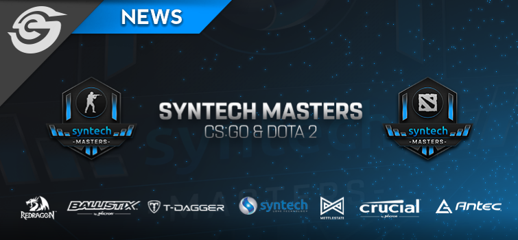 Syntech Masters Announced Header