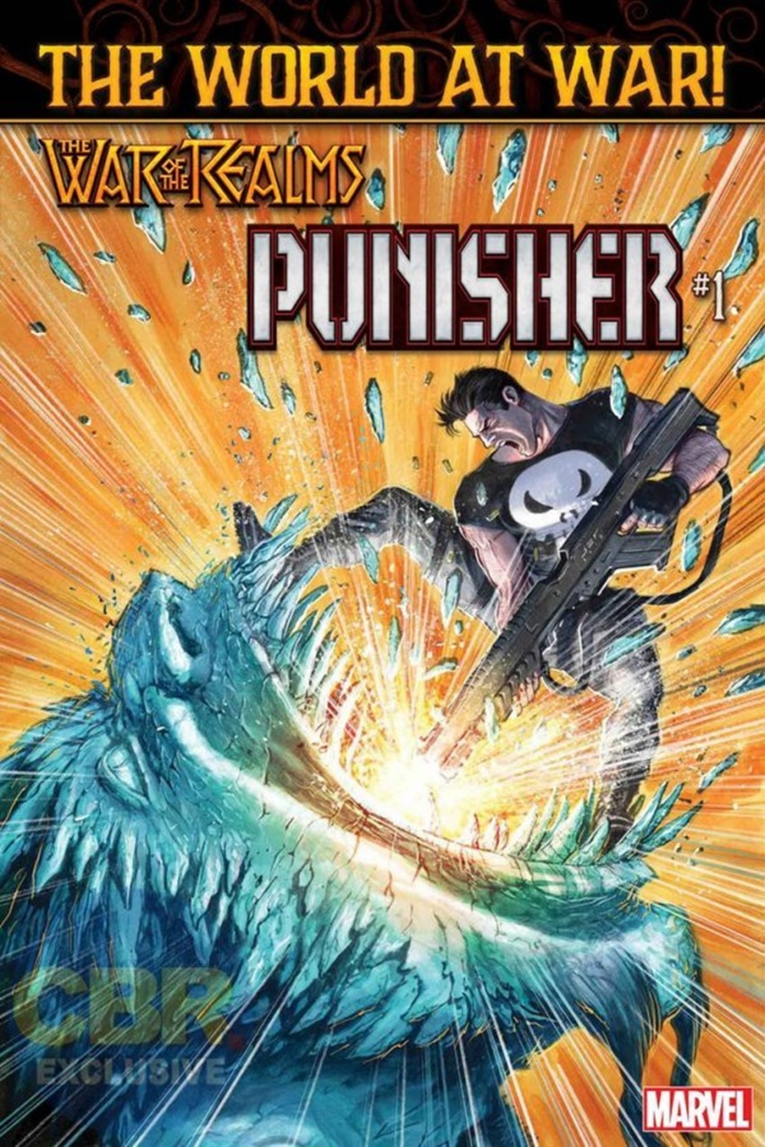 War of the Realms Punisher #1