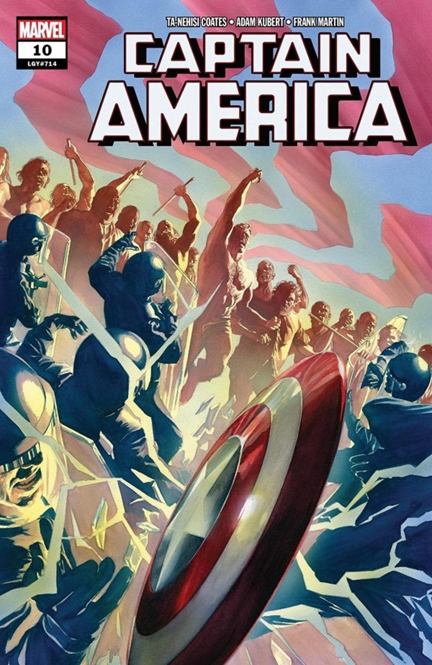 Captain America #10