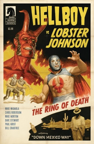 Hellboy vs. Lobster Johnson The Ring of Death #1
