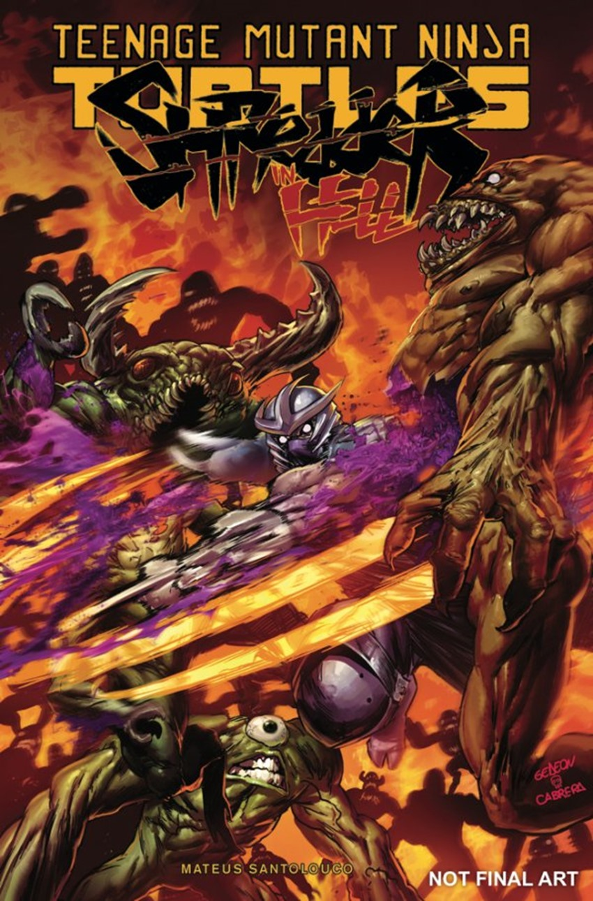 Teenage Mutant Ninja Turtles Shredder in Hell #3