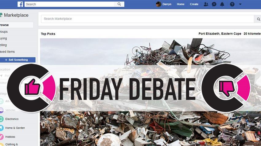 Facebook-trash