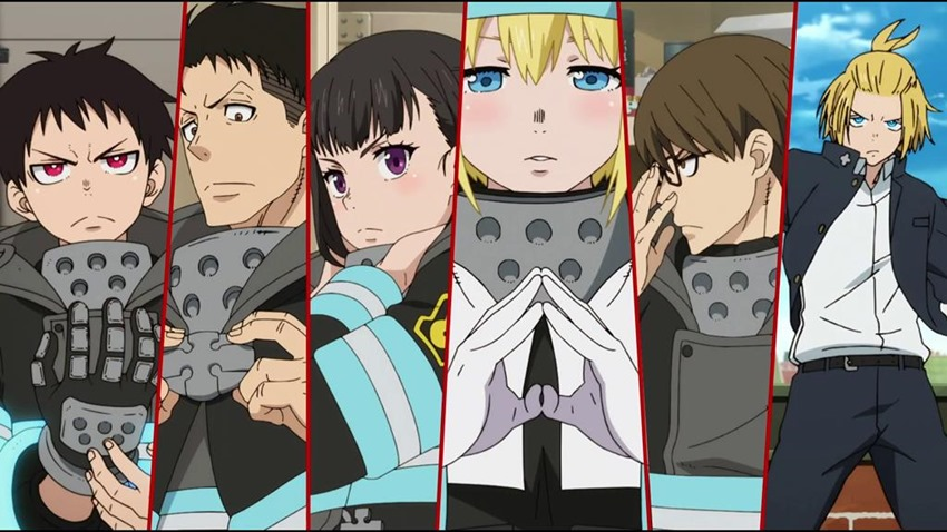 Fire Force (2)
