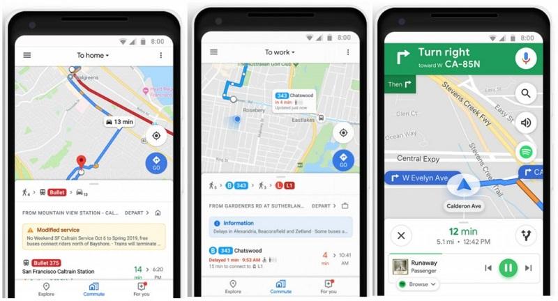 Google Maps to start tracking public transit congestion