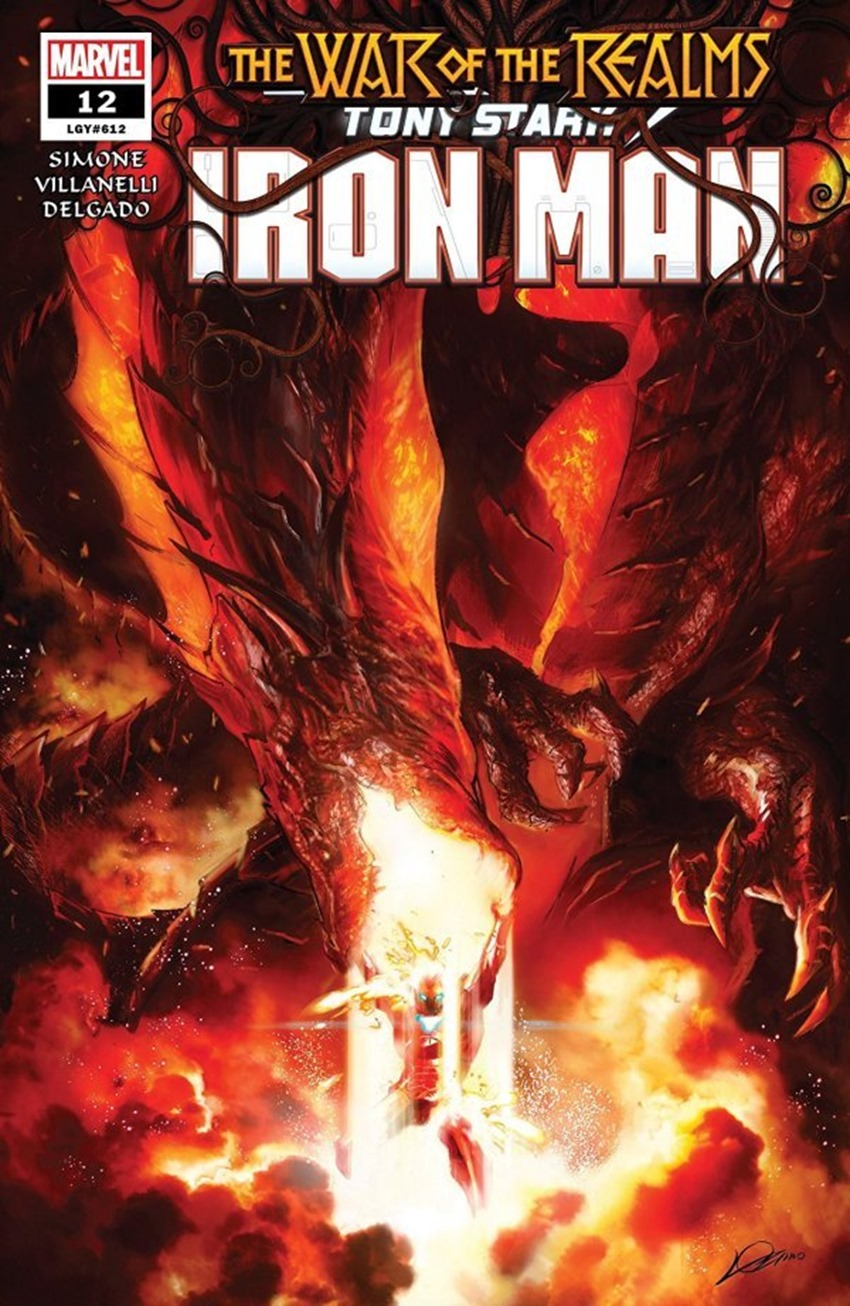 Tony Stark Iron Man #12