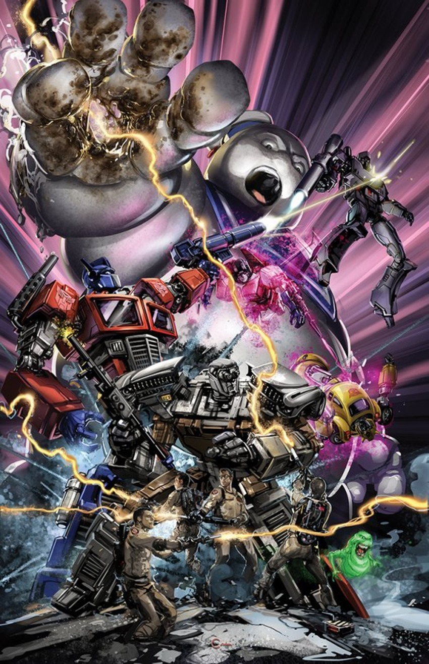 Transformers  Ghostbusters #1