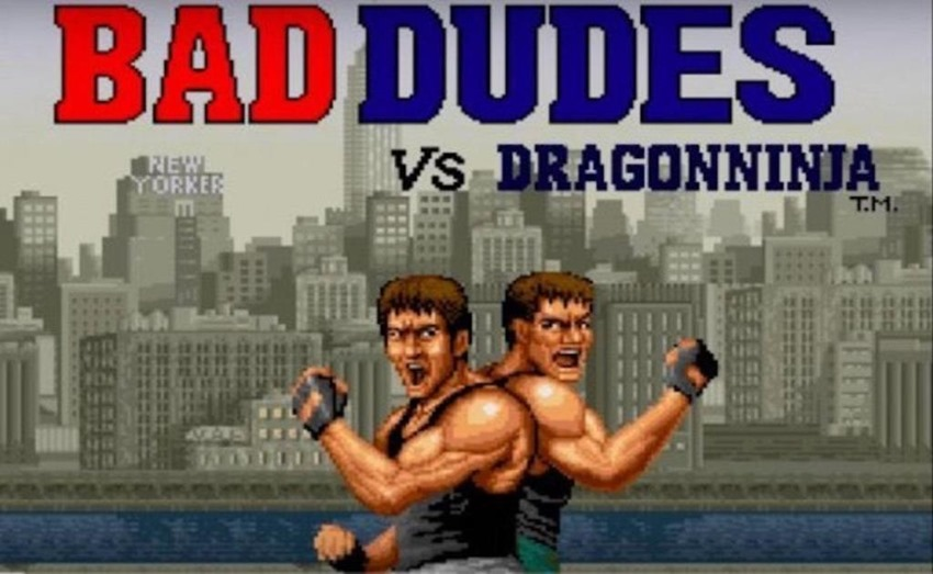 Bad Dudes Vs. DragonNinja