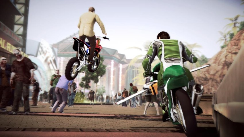 Dead Rising 2 slicycle
