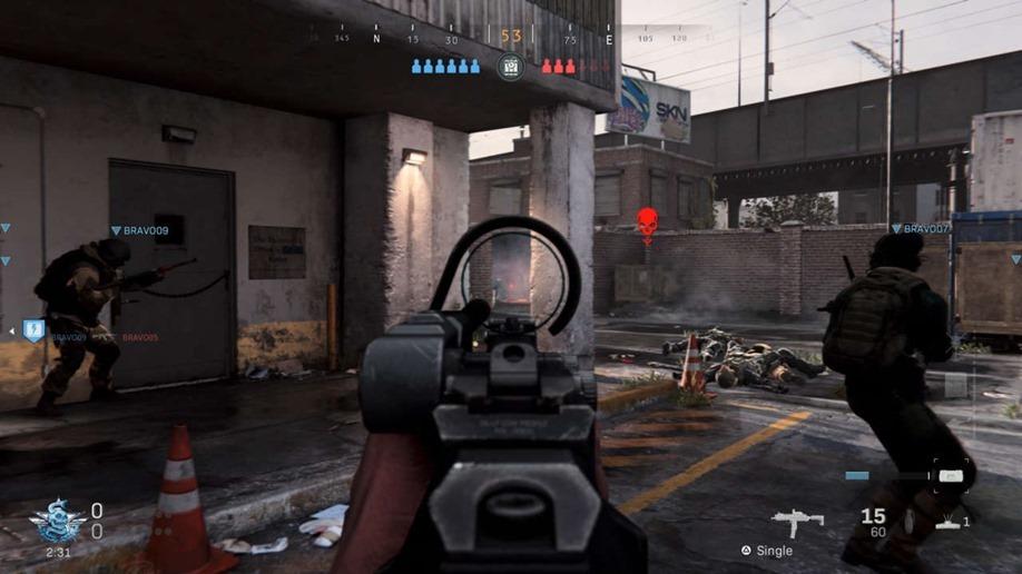 Modern Warfare multiplayer right here