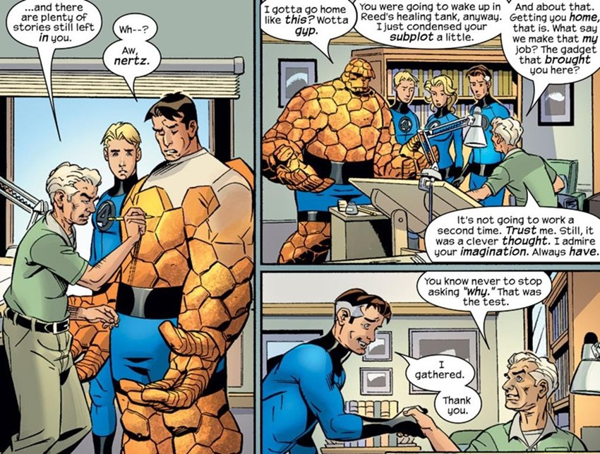 Comic book resurrections