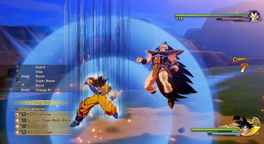 dragon-ball-z-gameplay-raditz-2