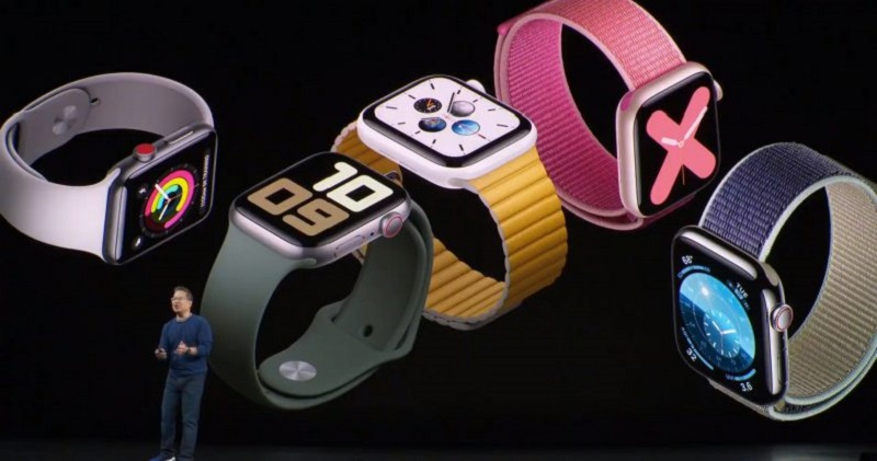 Apple Watch Series 5 smartwatch launched along with new iPad