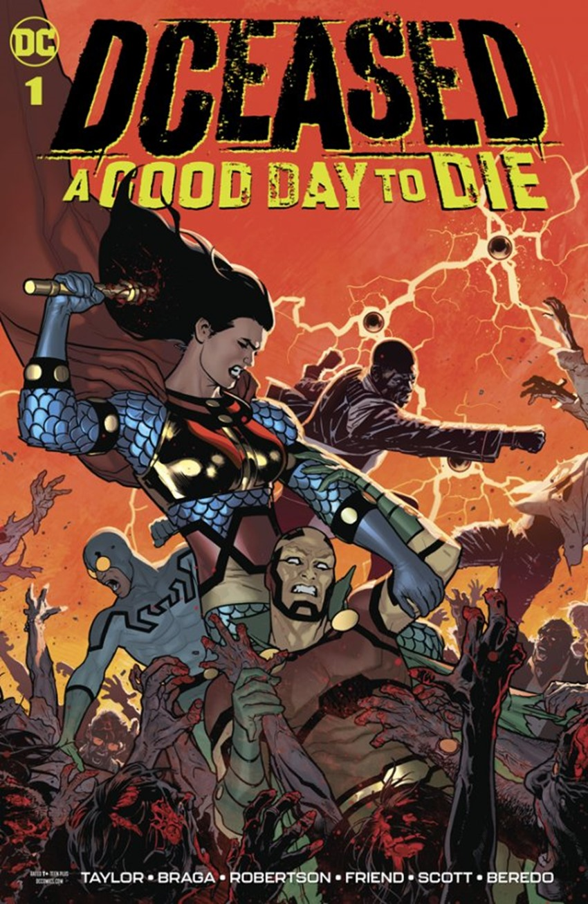 DCeased A Good Day To Die #1