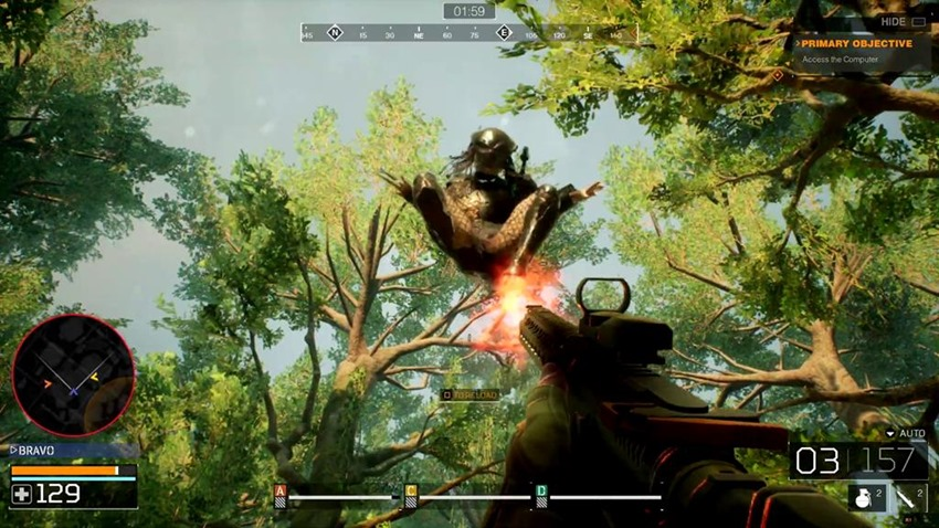 Predator: Hunting Grounds is aiming to be a tense game where