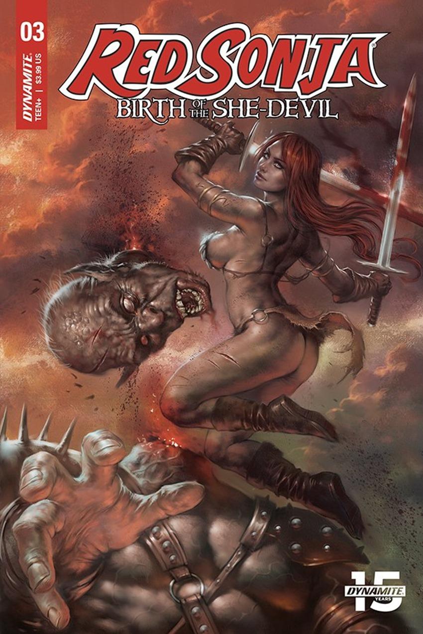 Red Sonja Birth of The She Devil #4