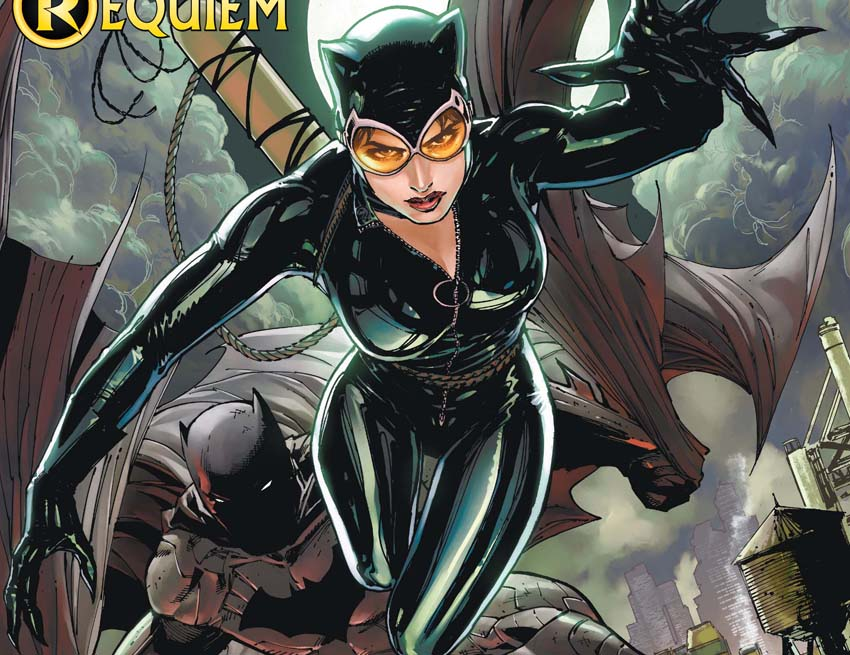 Catwoman portrayed in the comics