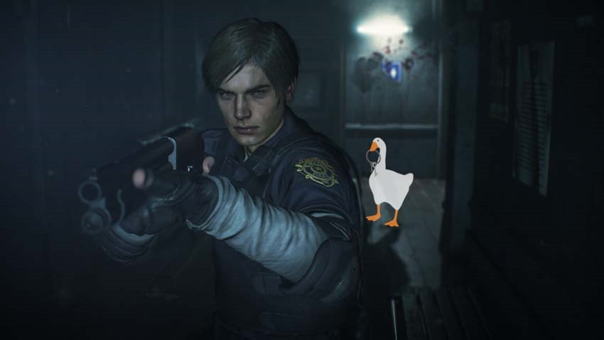 Resident Evil 2 Mod Turns Untitled Goose Game Into a Honking Nightmare