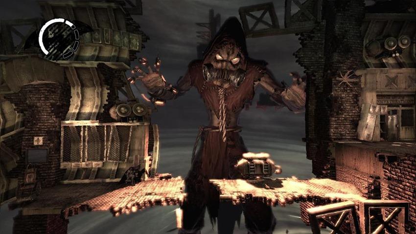 arkham asylum scarecrow stage