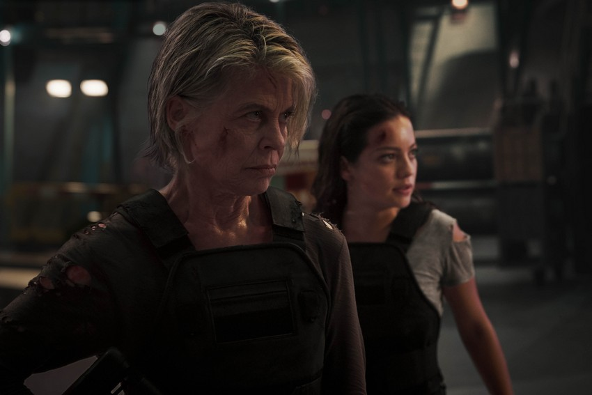 Terminator: Dark Fate starring Linda Hamilton movie review