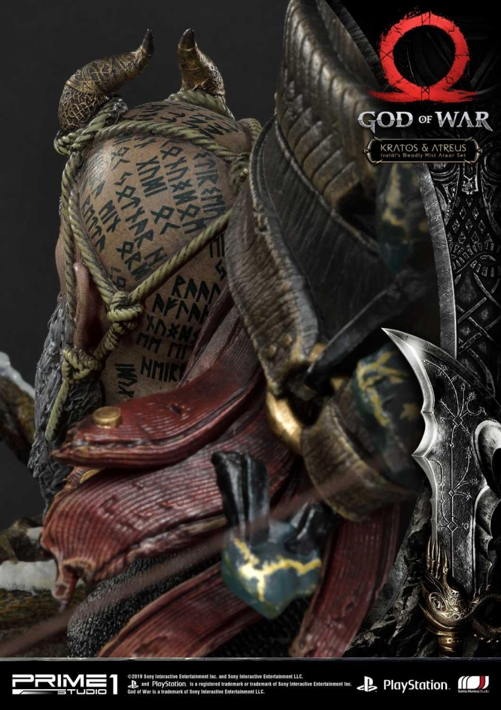 Boy Look At This 1200 God Of War Statue Critical Hit