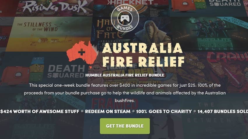 Help Australian wildlife with Humble's latest 29-game bundle