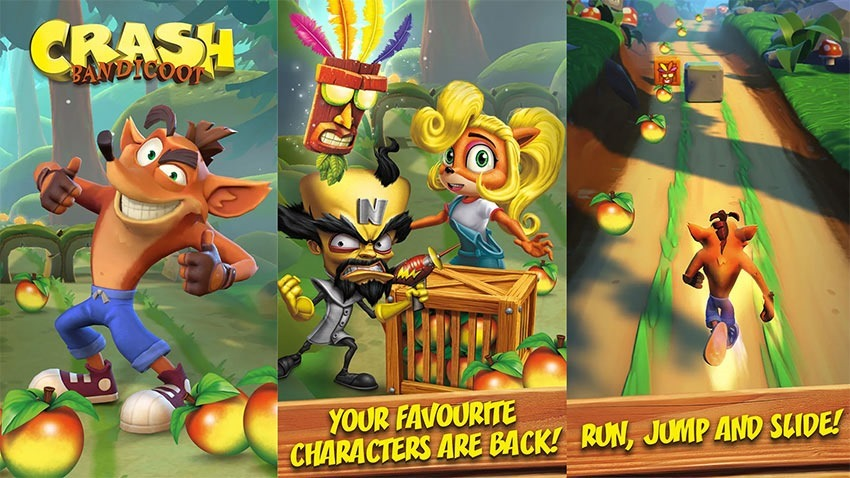 Crash Bandicoot Is Now A Mobile Runner