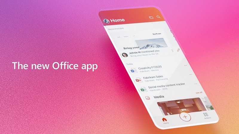 Microsoft releases its new unified office app for Mobile devices - Critical Hit