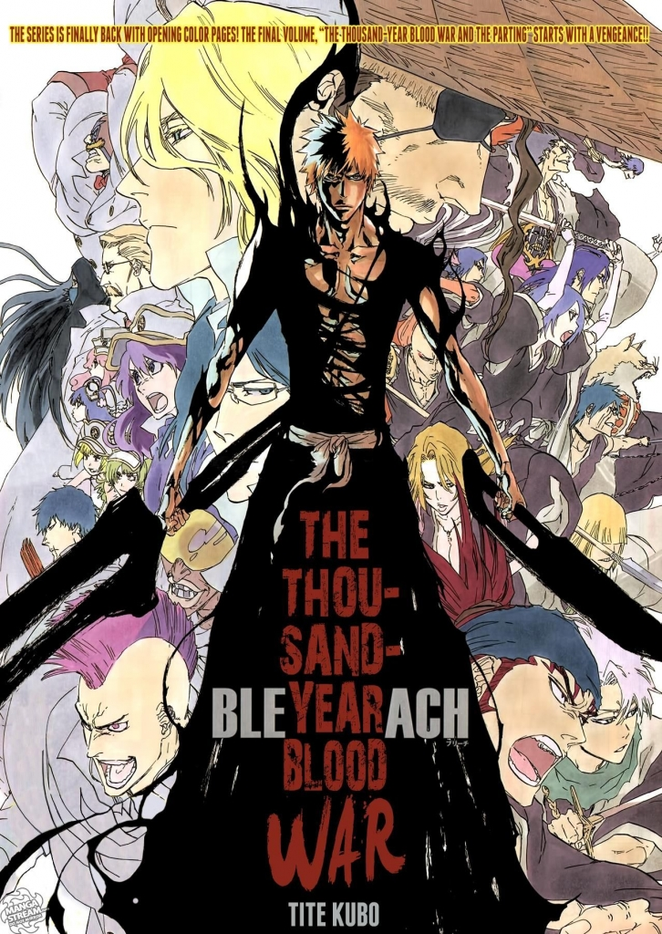 Image result for bleach thousand year blood war