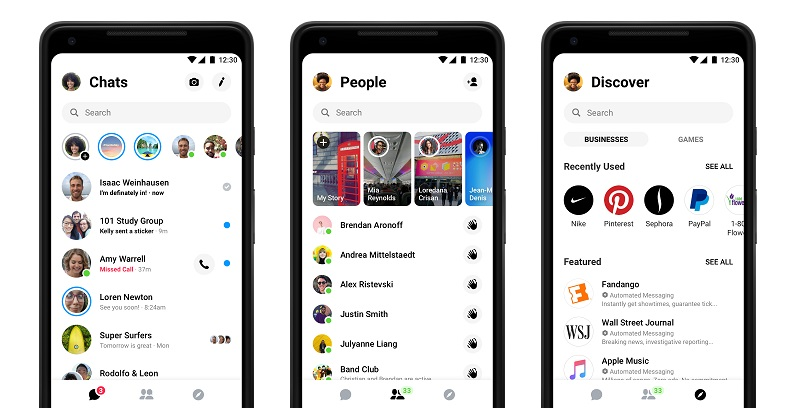Facebook Messenger Getting a Redesign, Will Remove Discover Tab