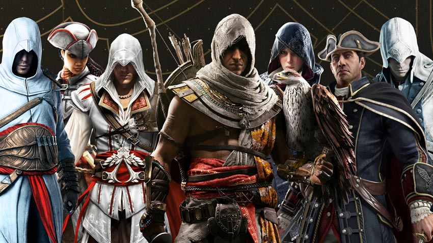 Ubisoft is unveiling the next Assassin's Creed on stream right now
