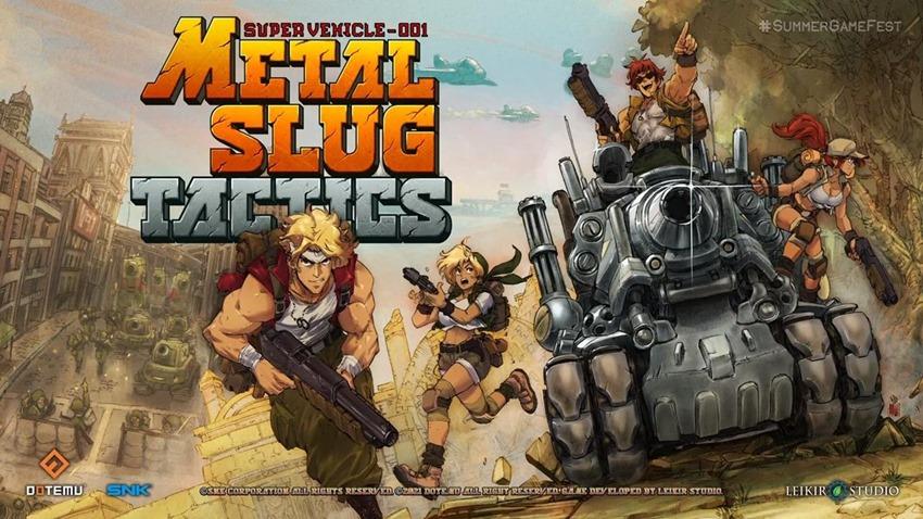Metal Slug Tactics gives the run 'n gun classic a new strategic angle - Critical Hit