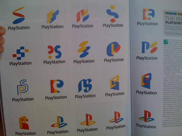 The history of the PS logo