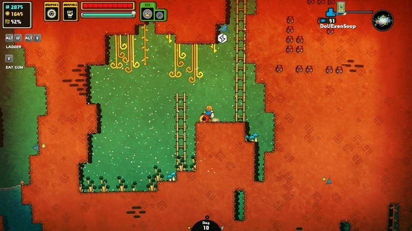005 - Little pockets of air in underground caverns usually provide a wealth of resources