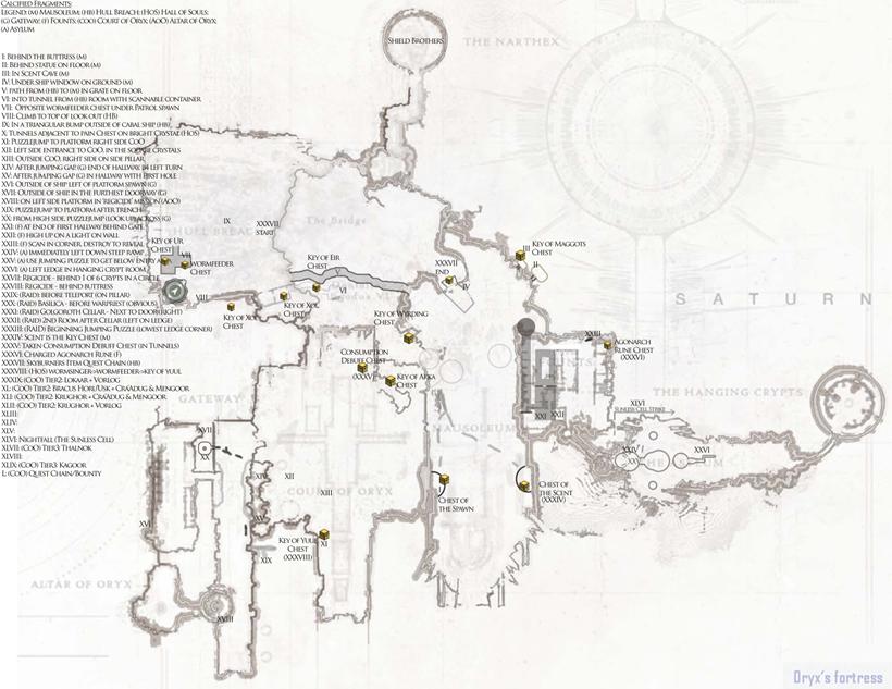 Dreadnaught map