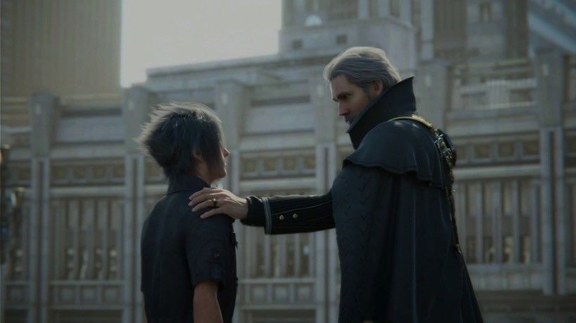 FFXV king and noctis