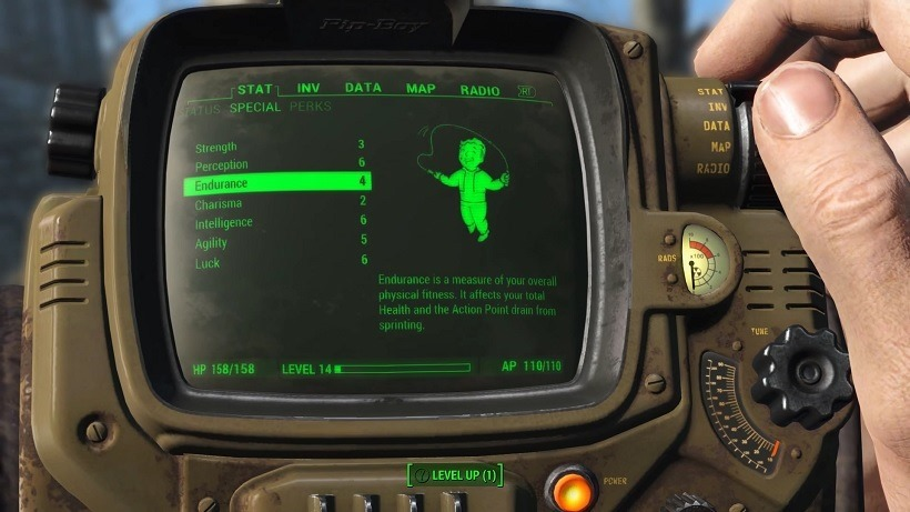 How Fallout 4's levelling works