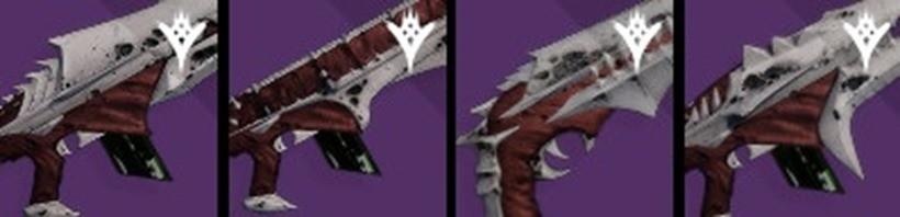 KF Raid weapons