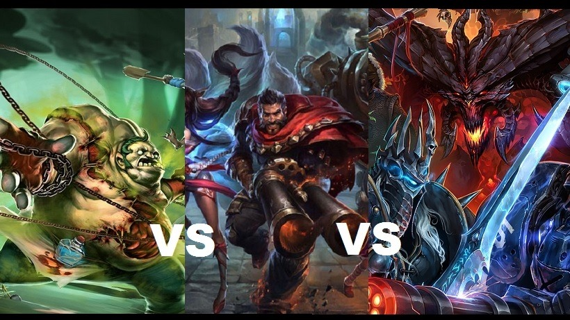 Know Your Mobas Dota 2 League Of Legends And Heroes Of The Storm