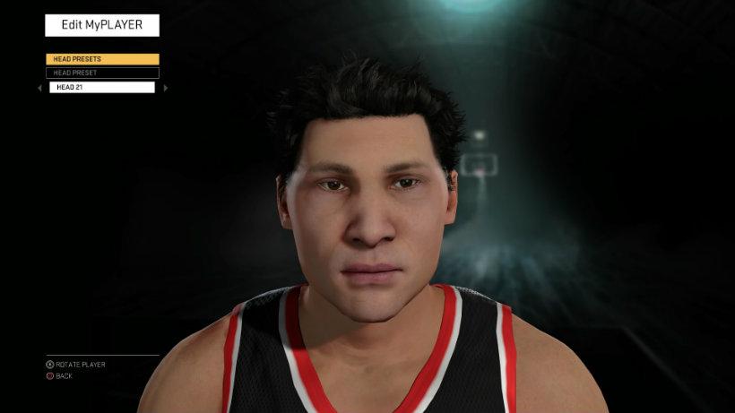 NBA 2k16 asian