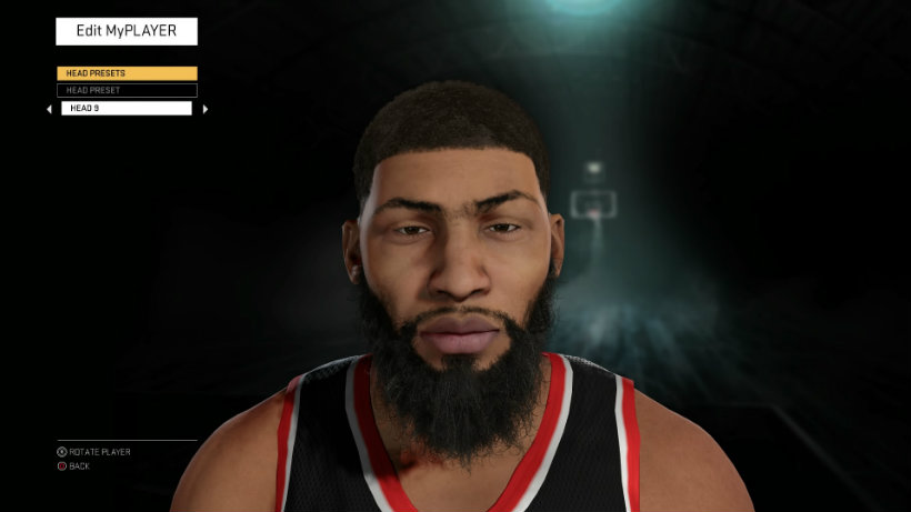 NBA 2k16 customize 1